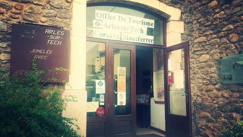 BUREAU D'INFORMATION TOURISTIQUE D'ARLES SUR TECH