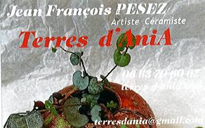 ATELIER CERAMISTE JEAN FRANCOIS PESEZ