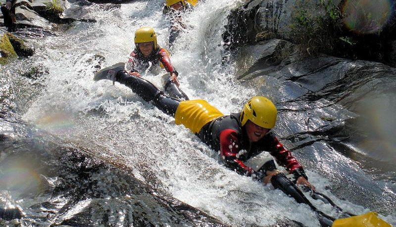 Canyoning Famille Gorges du Terme Amélie les Bains