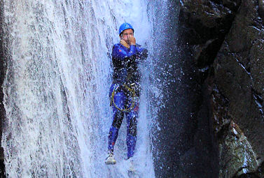 ESCAPADE CANYONING EN CATALOGNE