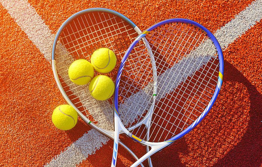 COURTS DE TENNIS A ARLES SUR TECH
