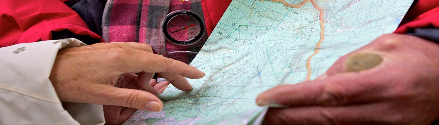 Itinéraires touristiques et de randonnéess